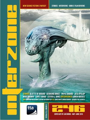 cover image of Interzone #246 May