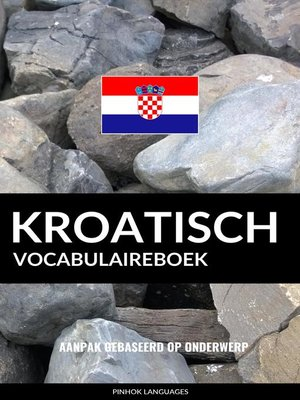 cover image of Kroatisch vocabulaireboek