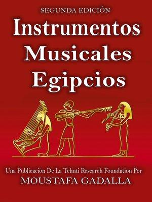 cover image of Instrumentos musicales egipcios