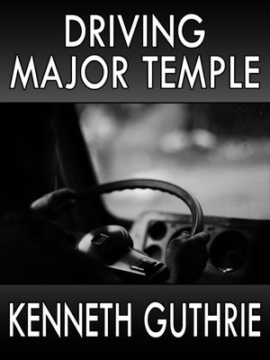 cover image of Driving Major Temple (Hired Action Thriller Series #3)