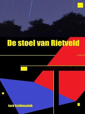 cover image of De stoel van Rietveld