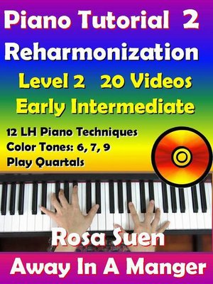 cover image of Rosa's Adult Piano Lessons Reharmonization Level 2