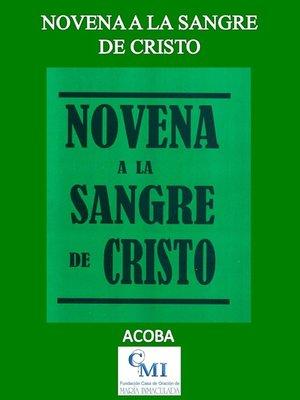 cover image of Novena a la Sangre de Cristo
