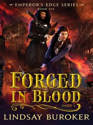 cover image of Forged in Blood I (The Emperor's Edge Book 6)