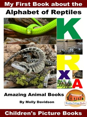 cover image of My First Book about the Alphabet of Reptiles