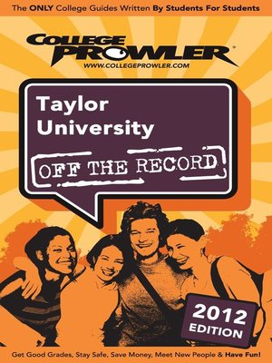 cover image of Taylor University 2012