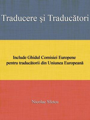 cover image of Traducere şi traducători