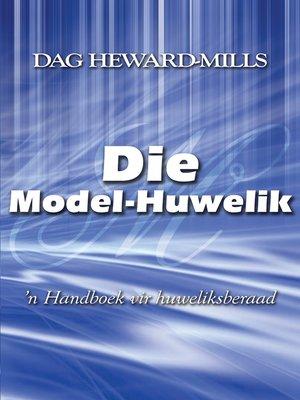 cover image of Die model-huwelik