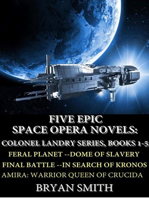 cover image of Five Epic Space Opera Novels