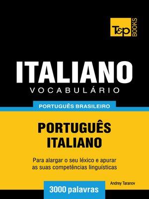 cover image of Vocabulário Português Brasileiro-Italiano