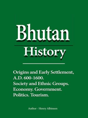 cover image of Bhutan History