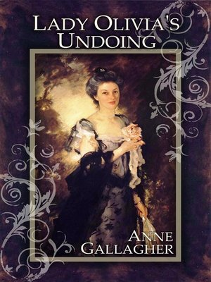 cover image of Lady Olivia's Undoing (The Reluctant Grooms Series Volume VI)