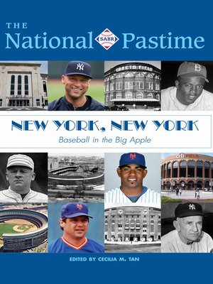 cover image of The National Pastime