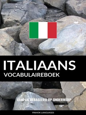 cover image of Italiaans vocabulaireboek