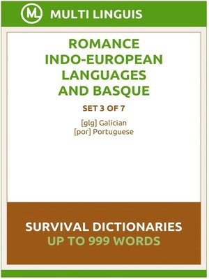cover image of Romance Languages and Basque Language Survival Dictionaries (Set 3 of 7)