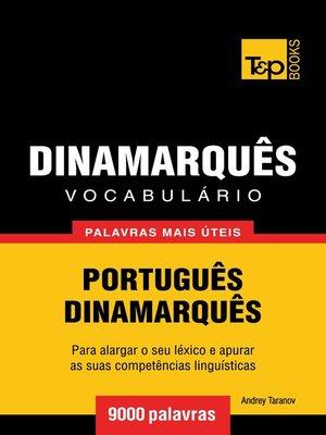 cover image of Vocabulário Português-Dinamarquês