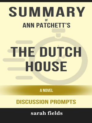 cover image of Summary of the Dutch House