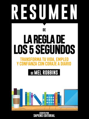 cover image of La Regla De Los 5 Segundos