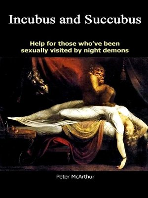 cover image of Incubus and Succubus night demons