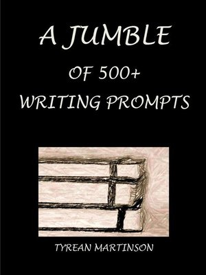 cover image of A Jumble of 500+ Writing Prompts