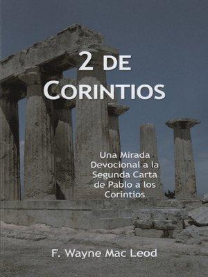 cover image of 2 de Corintios