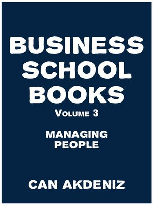 cover image of Business School Books Volume 3