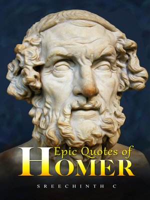 cover image of Epic Quotes of Homer
