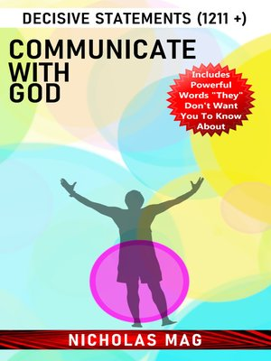 cover image of Communicate with God