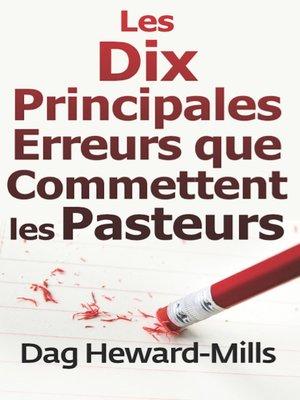 cover image of Les dix principales erreurs que commettent les pasteurs