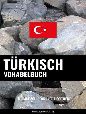 cover image of Türkisch Vokabelbuch