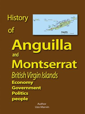 cover image of History of Anguilla and Montserrat, British Virgin Islands