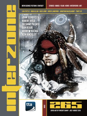 cover image of Interzone #265 (July-August 2016)