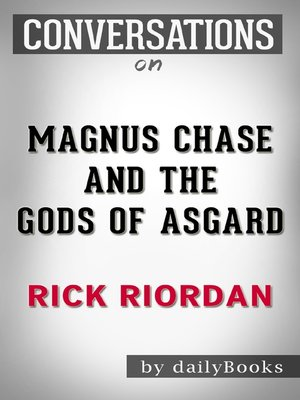 cover image of Magnus Chase and the Gods of Asgard