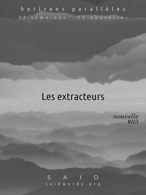 cover image of Les extracteurs