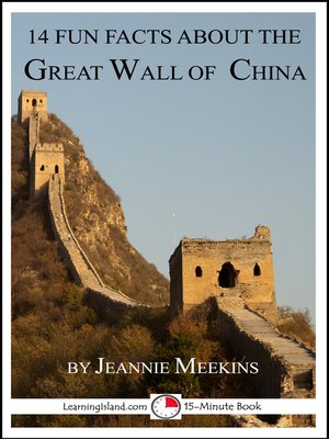 cover image of 14 Fun Facts About the Great Wall of China
