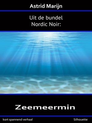 cover image of Nordic Noir, de zeemeermin