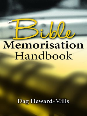 cover image of Bible Memorisation Handbook