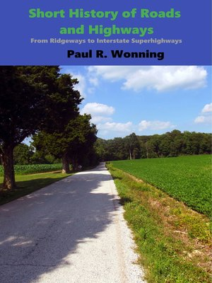 cover image of Short History of Roads and Highways