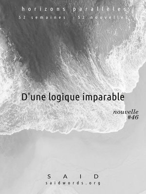 cover image of D'une logique imparable