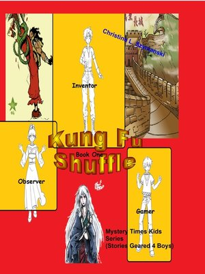 cover image of Kung Fu Shuffle..A Mystery Times Kids Series (Stories Geared 4 Boys)