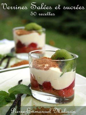 cover image of Verrines salées et sucrées 50 recettes