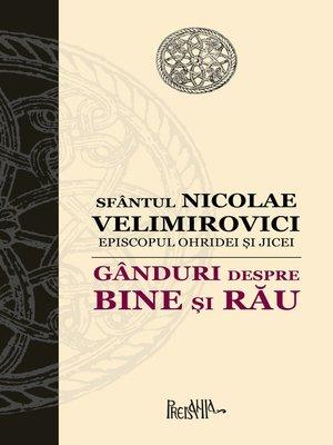 cover image of Ganduri despre bine si rau