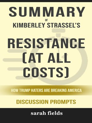cover image of Summary of Resistance (at All Costs)