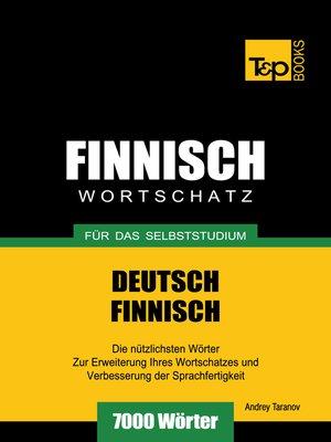 cover image of Deutsch-Finnischer Wortschatz für das Selbststudium