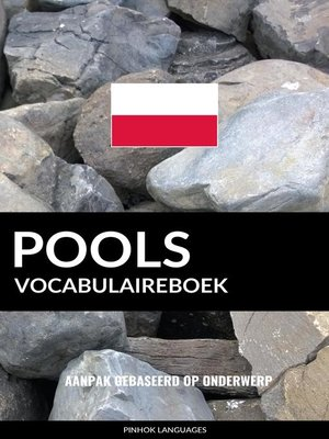 cover image of Pools vocabulaireboek