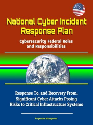 cover image of National Cyber Incident Response Plan