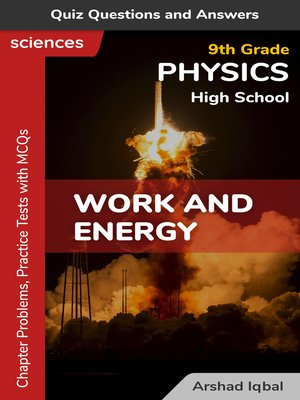 cover image of Work and Energy Multiple Choice Questions and Answers (MCQs)