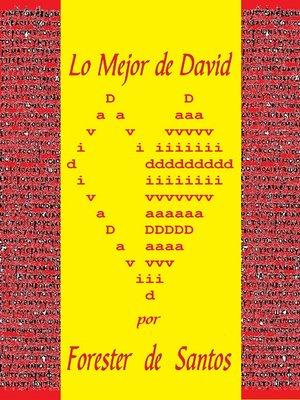 cover image of Lo Mejor de David