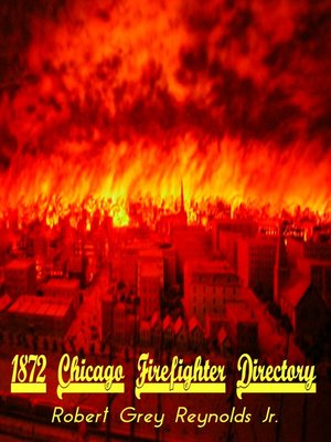 cover image of 1872 Chicago Firefighter Directory