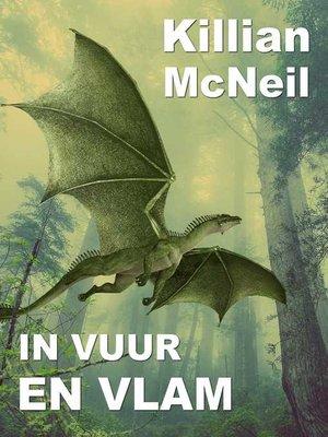 cover image of In vuur en vlam